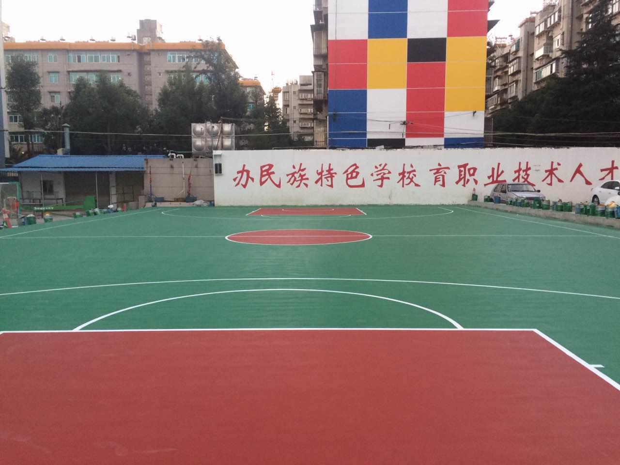 【推荐】东莞具有性价比的水性环保硅pu球场材料——九江硅pu球场材料厂家