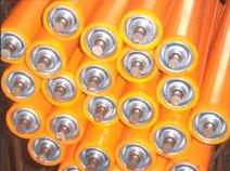 包胶滚筒生产厂-高性价无动力包胶滚筒-庆发机械倾力推荐