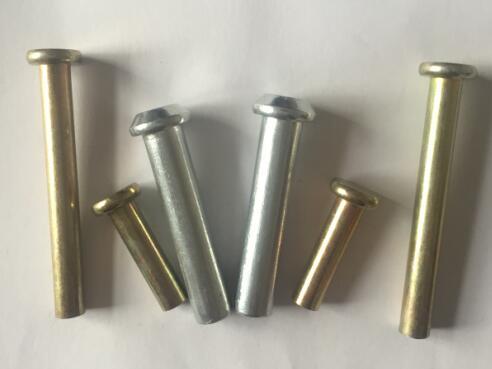 大成实心铁铆钉可以信赖的生产厂家%%邯郸扣件铆钉加工