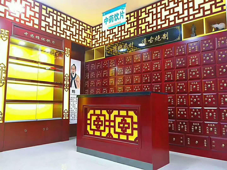 河南销量好的中药柜生产厂家,创意中药柜