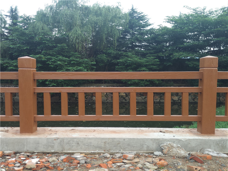 價位合理的仿木護欄|肖氏景觀工程_仿木護欄設計新穎