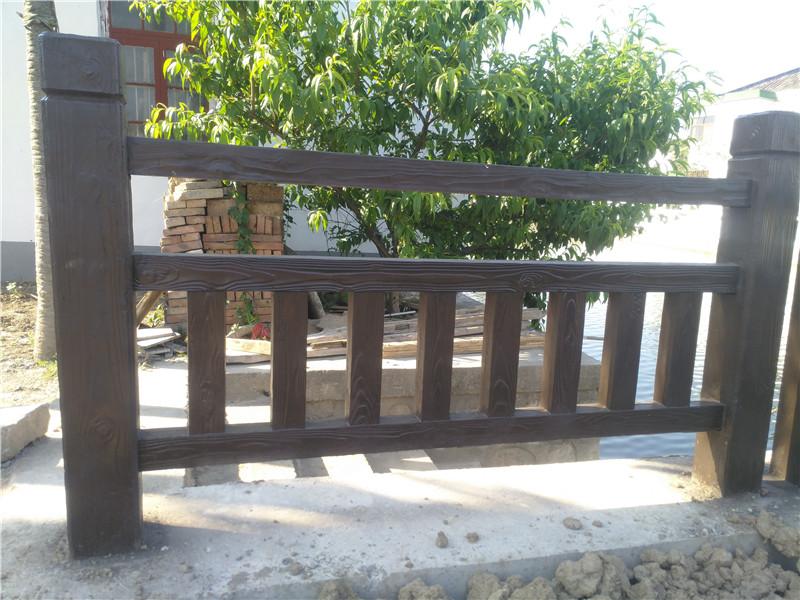 仿木护栏批发价格-肖氏景观工程专业供应仿木护栏