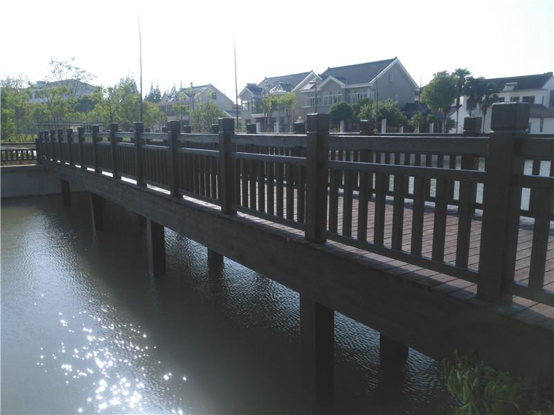 盐城仿木护栏-哪里有仿木护栏供应批发