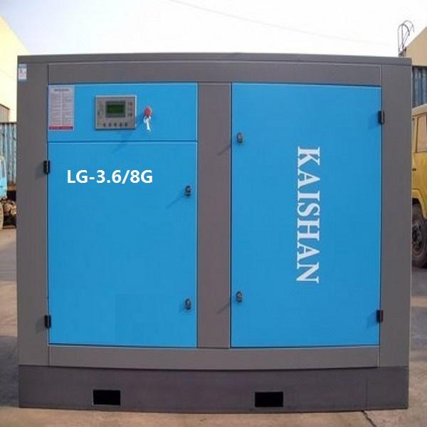 陕北地区现货供应开山牌LG-3.6/8G螺杆式空压机