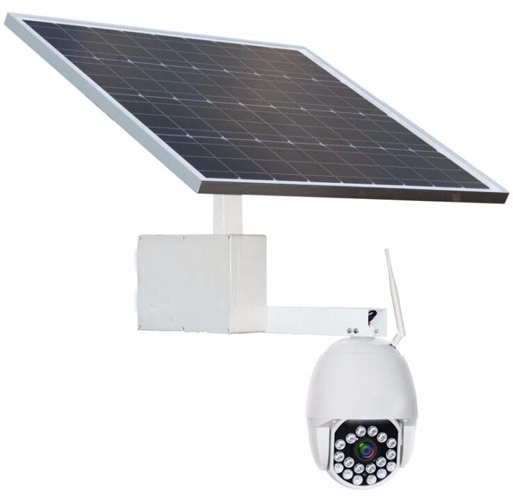 太阳能4G球形摄像机