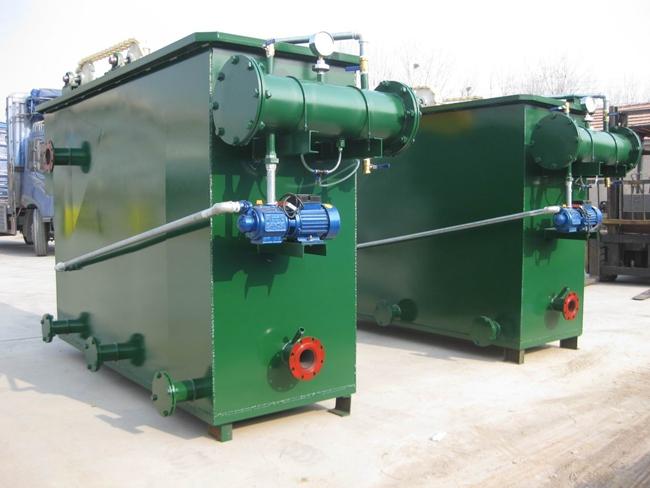 诸城市长明机械专业生产制造溶气型气浮机,方形溶气气浮机