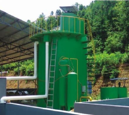 优质涡凹气浮机  溶气气浮污水处理机为钢制结构,其工作原理是:由空气