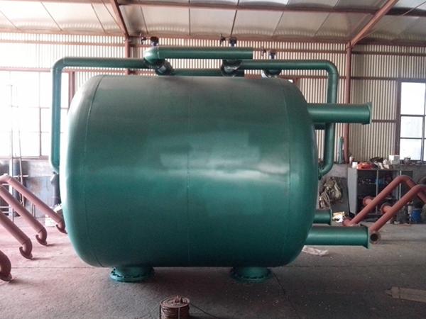 专业生产废水过滤设备,石英砂过滤罐