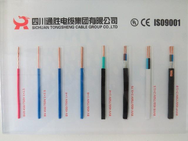 大量供应品质好的铜芯聚氯乙烯绝缘电线电缆 中国耐用的电缆