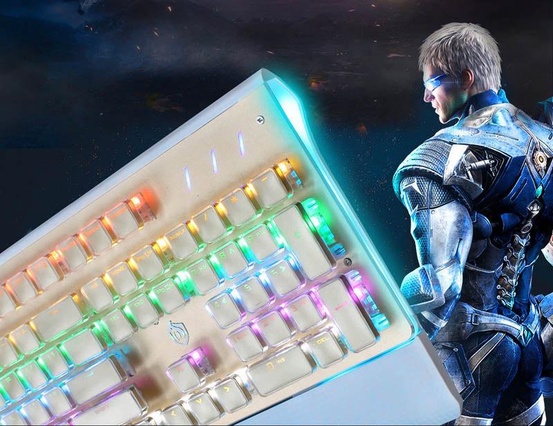 游戏键盘_供应浩坚电子超优惠的机械发光键盘