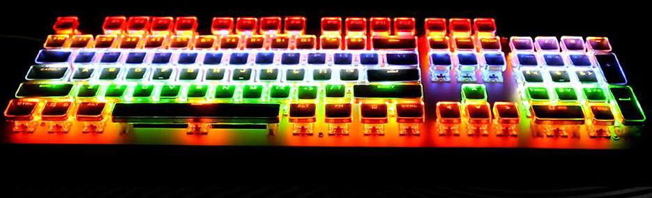 美尚e族水晶键盘-东莞地区有品质的美尚e族机械键盘供应商