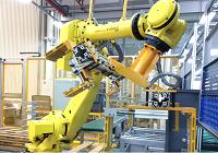 工业机器人集成施工系统
