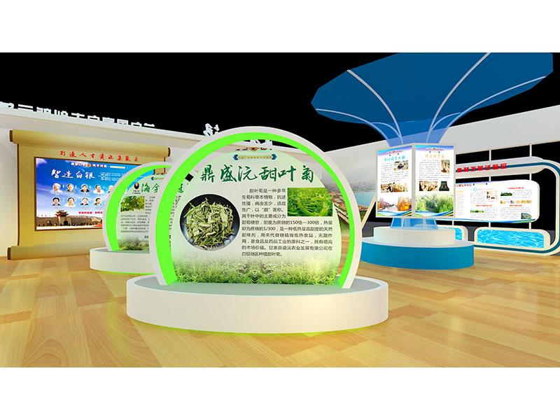 甘肅蘭州青海西寧展廳設計搭建會展服務展覽工程選【芳菲大地】