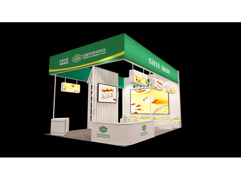 甘肃兰州青海西宁展厅设计搭建会展服务展览工程选【芳菲大地】