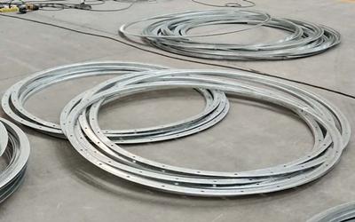 无锡镀锌钢带法兰选大世界通风_价格优惠,环保的镀锌钢带法兰