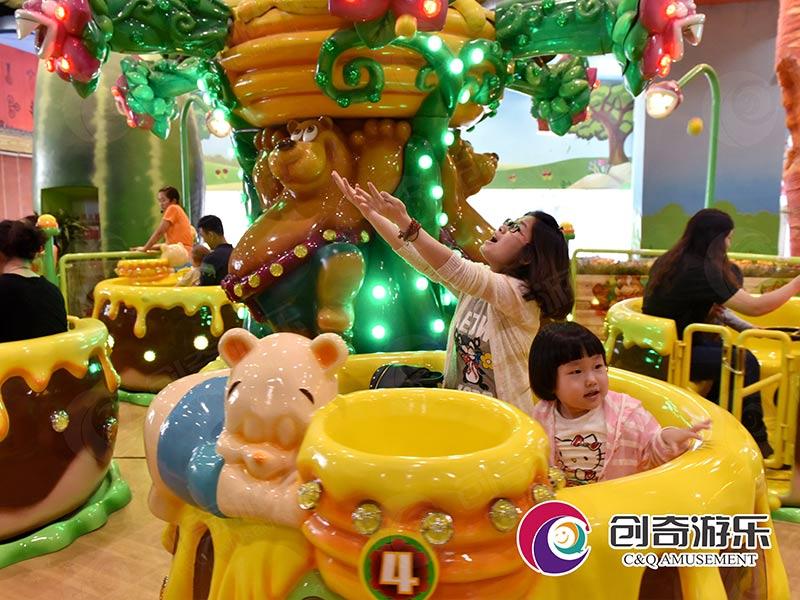 旋转木马-口碑好的小熊吃游艺机供应商