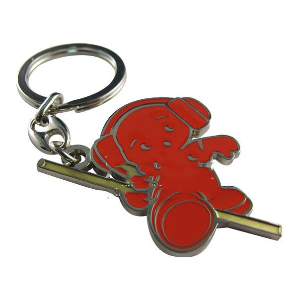 创意钥匙圈定制-五金锁匙扣市场价格