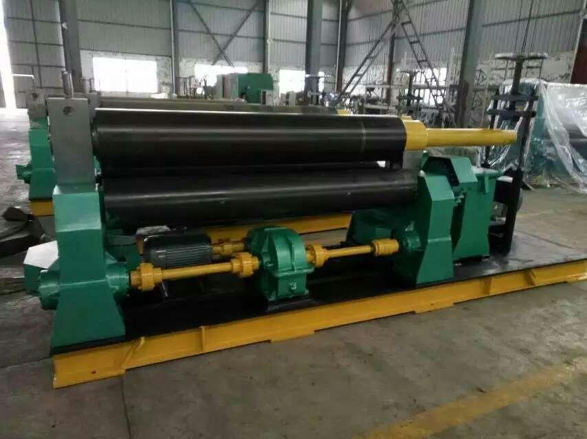 天津市沪冲机电设备公司好品质WII系列对称式三辊卷板机出售|北京卷板机