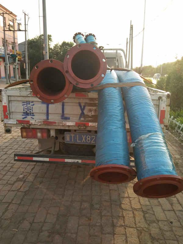 大口径疏浚夹布胶管厂家供应|大口径疏浚夹布胶管宏禄橡塑制品专业供应