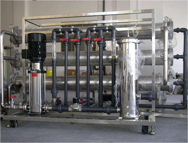 大型工业用水处理设备|全不锈钢纯水设备|反渗透设备厂家