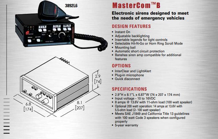 具有品牌的美国CODE33892L6警报器,别错过华亿安全设备-可靠的美国CODE3MX752海事巡逻船警示灯