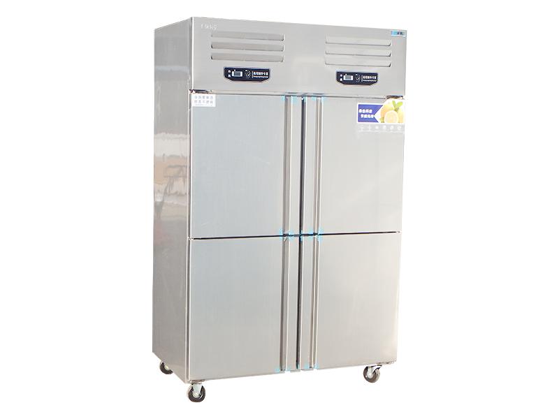 东北饭店专用立式冰柜生产厂家、价格:冰傲论实力赢了