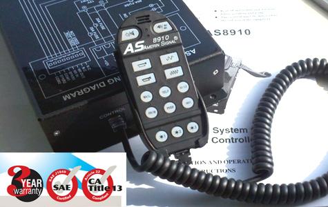 美国道奇AS8910警报器