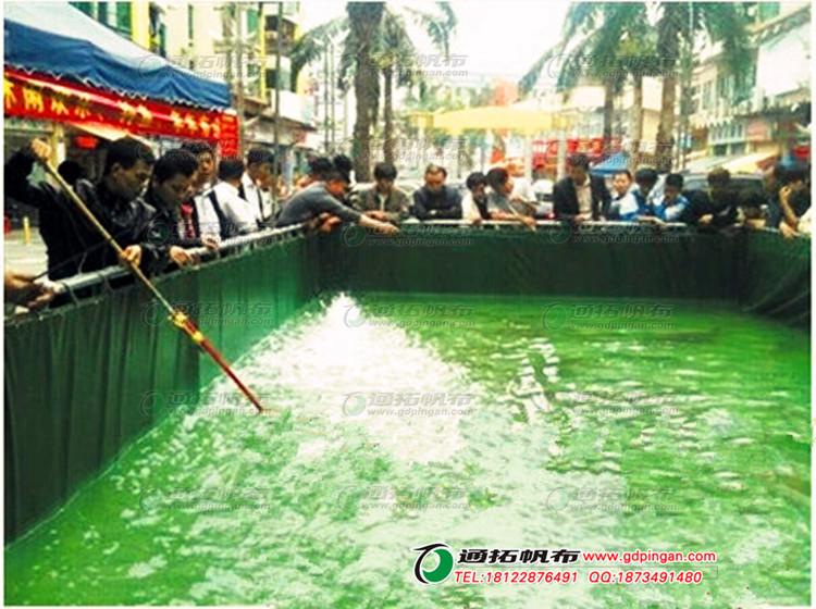 养殖储水池_市场卖鱼帆布池定做_通拓帆布厂家