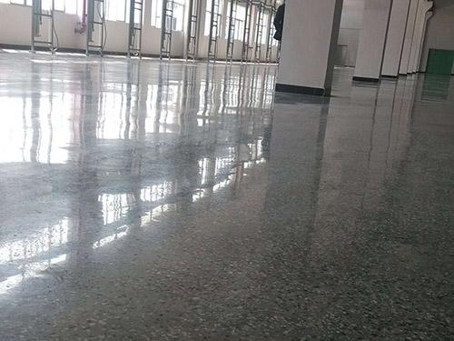 惠州凝土密封固化剂-水磨石地面硬化施工公司属东申地坪专业