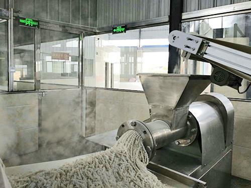 半干粉生产设备_合顺精达米粉设备_信誉好的直条干粉生产设备提供商