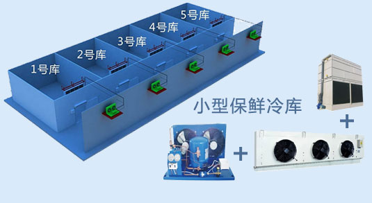 广东可信赖的高效蓄冷生鲜保鲜定制公司-广州冷库安装