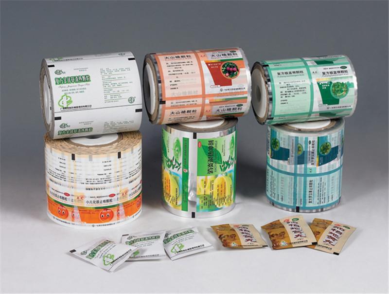 厂家定制各种特产自动卷膜调料酱汁小吃塑料复合包装袋