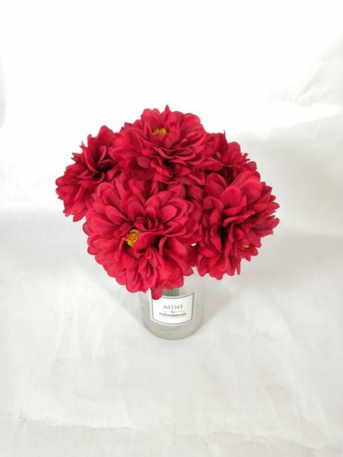天津专业的六头大丽花把束生产厂家-婚庆布置用花