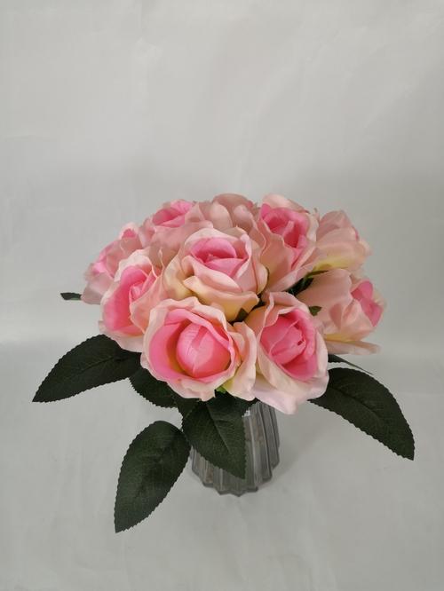 仿真玫瑰花把束