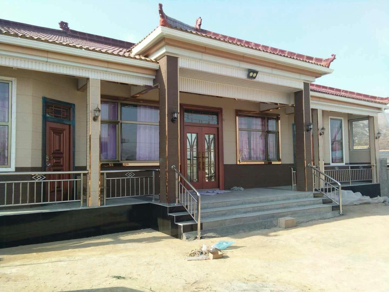 青海农村木头房子图片