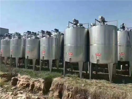 全新15吨不锈钢储罐 要买好用的二手储罐设备,就上梁山振鲁二手设备