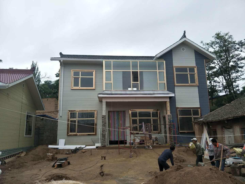 甘肃哪里有供应口碑好的轻钢房-天水园林建筑设计