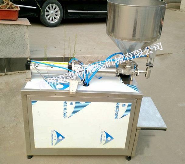 酱类灌装机 粘稠液体定量灌装机 芝麻酱甜面酱灌装机