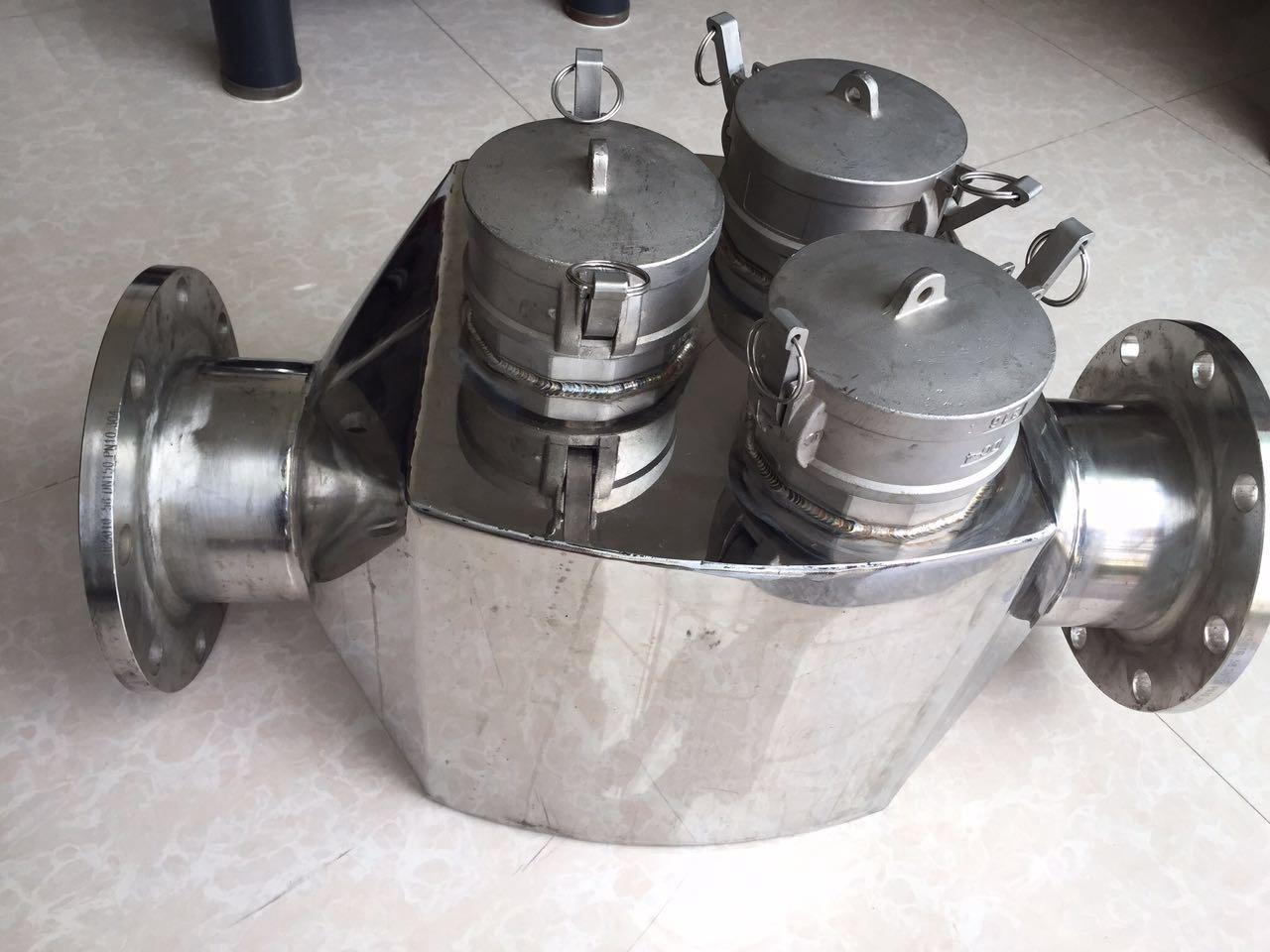 知名的管道式磁铁阀厂家当属河南兄弟造纸机械 8寸磁铁阀厂家