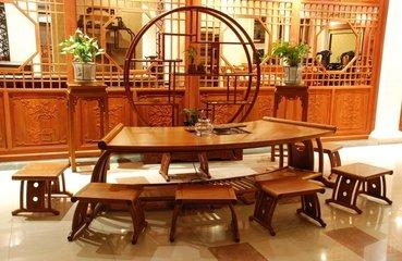 尚方圆-—红木古典家具-缅甸花梨家具—红木家具沙发