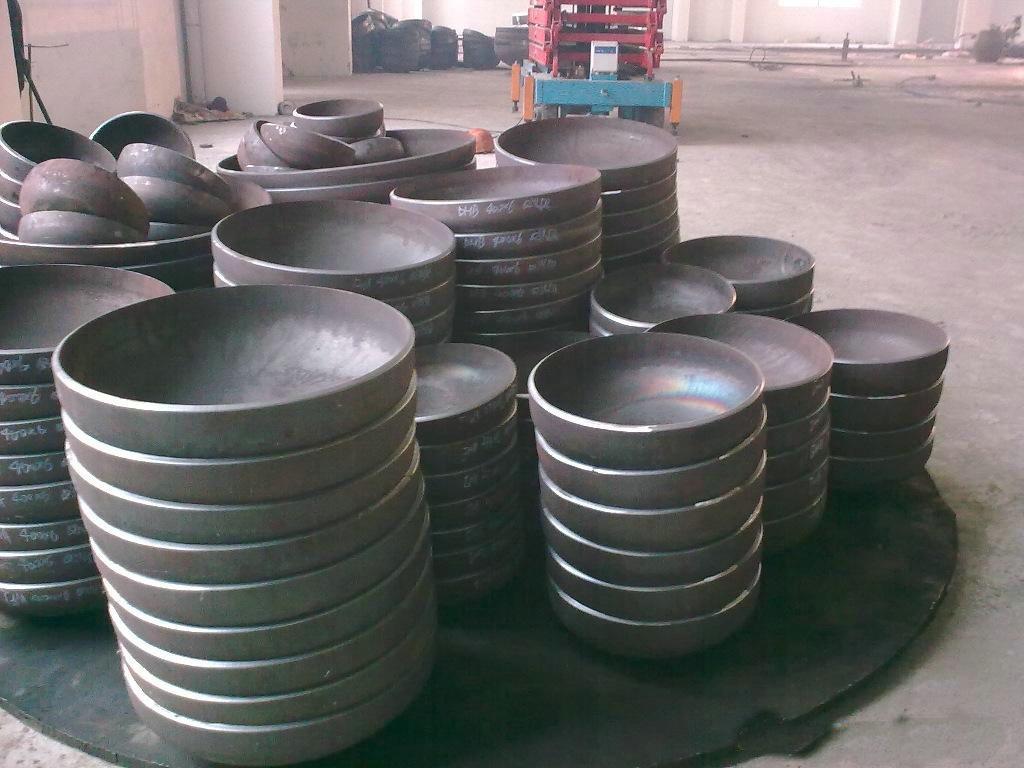 供应不锈钢碳钢蝶形椭圆形管帽 304/316/Q235B封头
