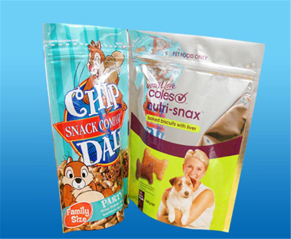 厂家供应食品拉链自立袋休闲食品自立自封袋