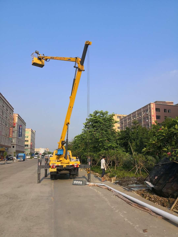 价位合适的东莞高空车出租,知名的广州路灯车出租公司推荐