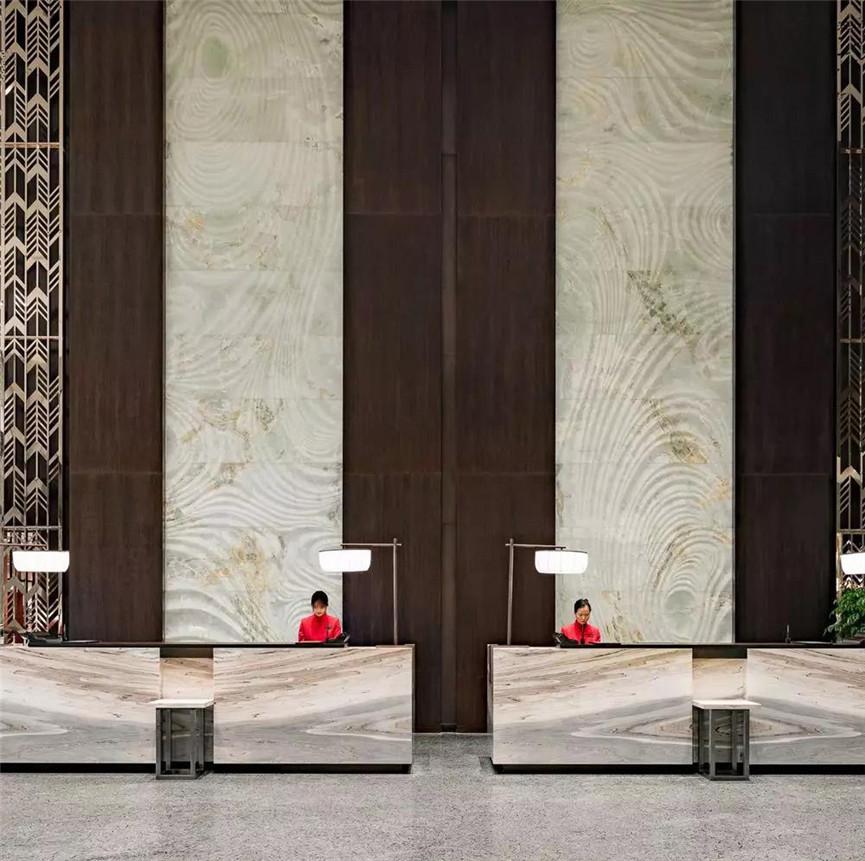 郑州酒店装修,古韵时尚的精品酒店装修设计工程