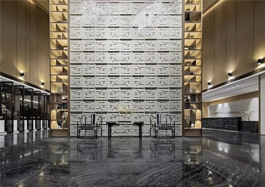 郑州文气书香的销售中心展厅装修,谱写着空间性情的风雅颂