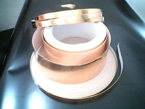 自粘铜箔胶带厂家|万易燊电子供应自粘铜箔