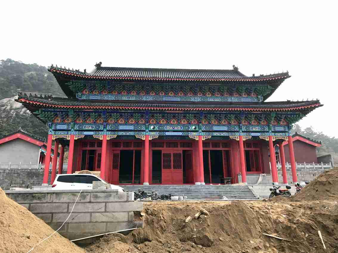 临朐古建筑建造