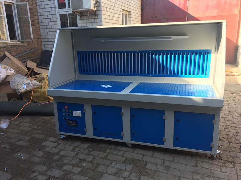 物超所值的光氧催化废气净化器-锦澄环保设备提供专业的抛光打磨除尘工作台