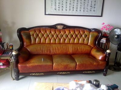 时尚家具翻新_力荐皮匠大师家居服务物超所值的欧式沙发