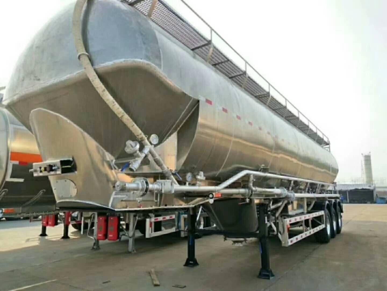 湖南岳阳55立方铝合金油罐车—质量好的铝合金油罐车供应